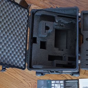 Top view of Pelican Case